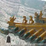 Cestovatelské přednášky - Střední Čína - Výzdoba střech klášterů