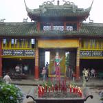 Cestovatelské přednášky - Střední Čína - Chengdu klášter